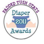 Padded Tush Stats 2011 Diaper Awards – Voting is NOW OPEN