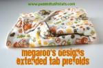 MegaRoo's Designs Extended Tab Prefolds Review