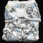 Blueberry Capri Cloth Diaper Cover Review