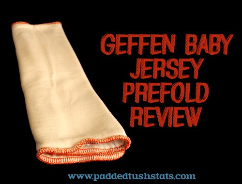 Geffen Baby Jersey Prefold Review