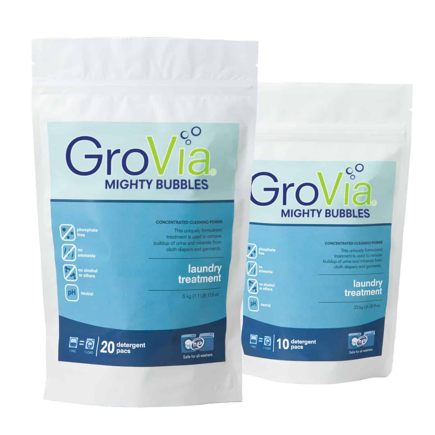 GroVia Mighty Bubbles Laundry Treatment