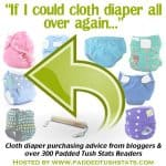 """If I Could Cloth Diaper TWO All Over Again"""