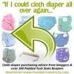 """""""If I Could Cloth Diaper All Over Again"""" Survey Results"""