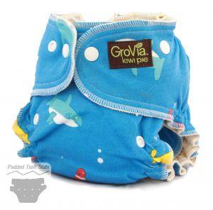 GroVia Kiwi Pie Fitted Cloth Diaper