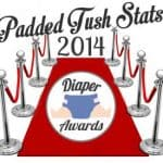 2014 Padded Tush Stats Diaper Awards Ballot