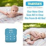 New Thirsties One Size All In One Cloth Diaper Reveal (And Giveaway!) – Ends 11/5/14