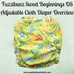 Fuzzibunz Sweet Beginnings One Size Adjustable Cloth Diaper Overview