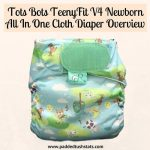 Tots Bots TeenyFit V4 Newborn All In One Cloth Diaper Overview