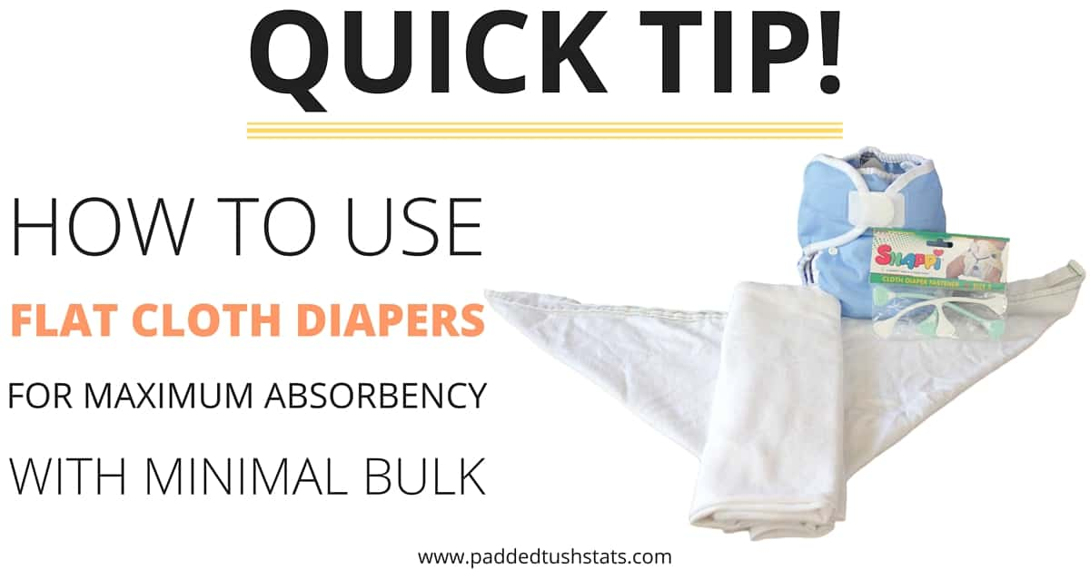how to use flat cloth diapers for maximum absorbency. Black Bedroom Furniture Sets. Home Design Ideas