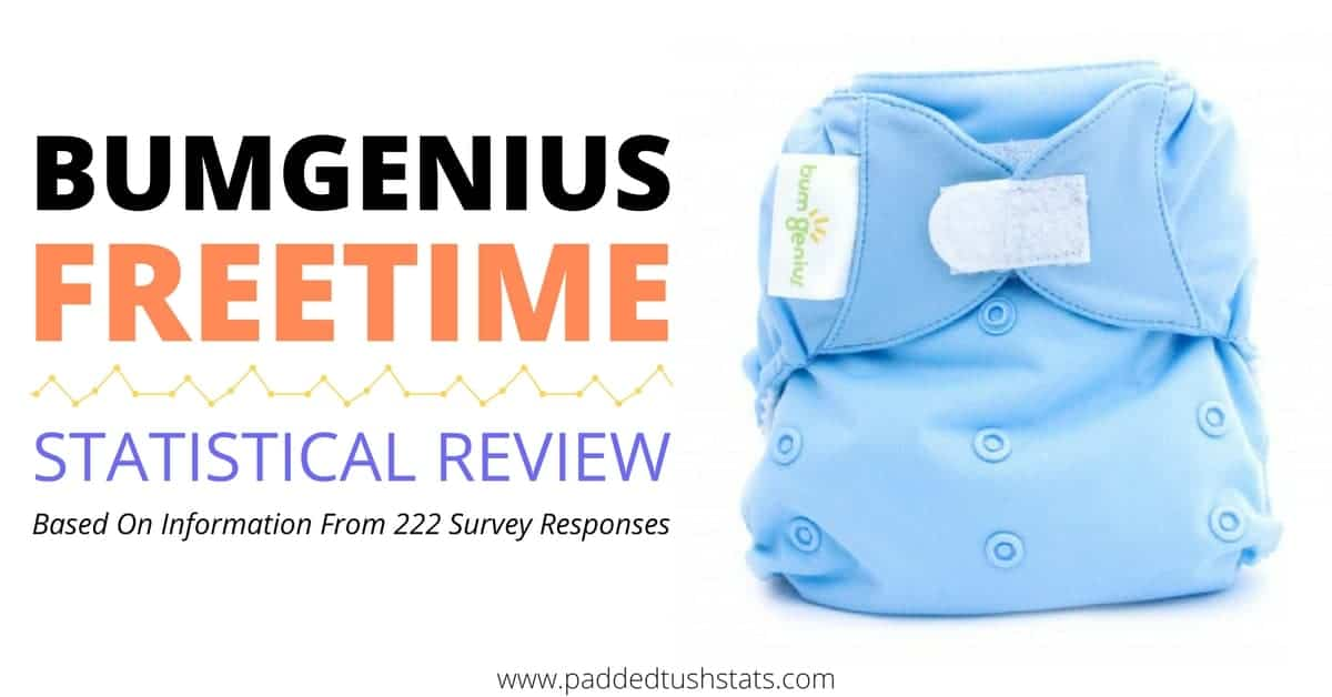 Bumgenius Freetime All In One Cloth Diaper Statistical Review